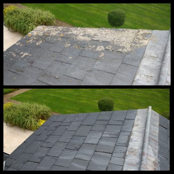 Roof cleaning in Amersham