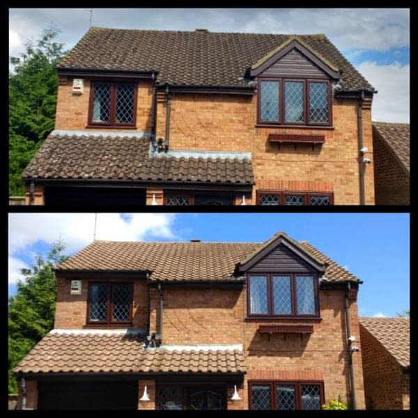 Llanelli roof cleaning