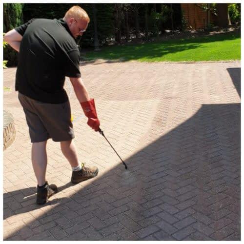 driveway and patio sealing