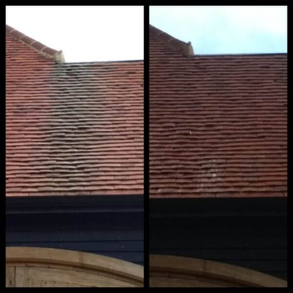 Roof cleaning in High Wycombe