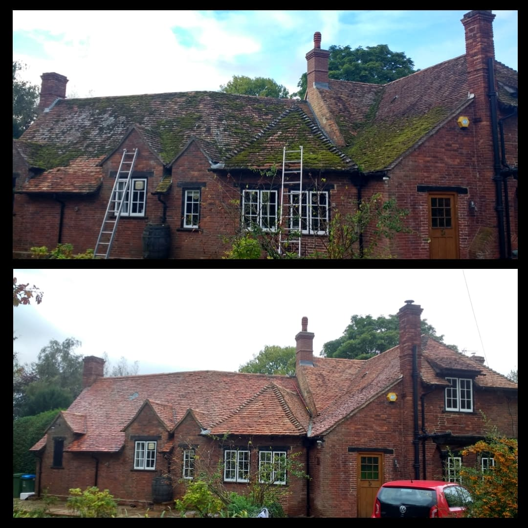 Roof Cleaning in Buckinghamshire