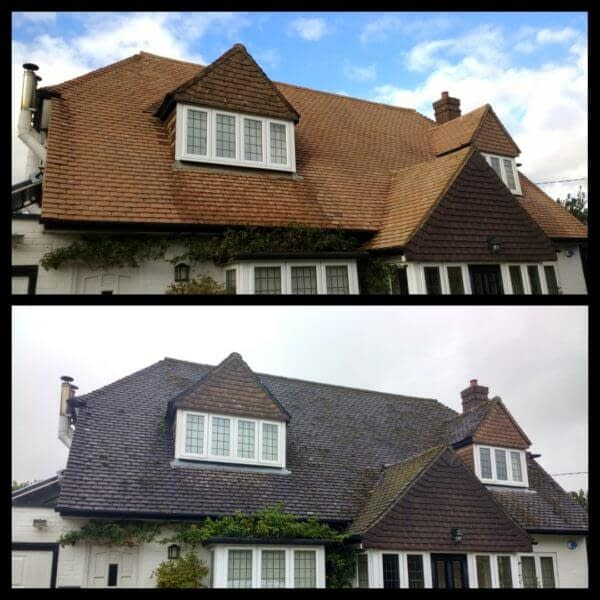 roof cleaning in Essex